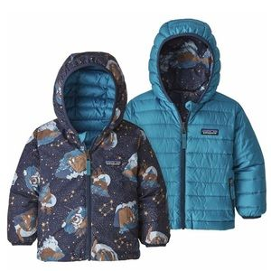 NWT Patagonia Reversible Down Jacket 3T 4T